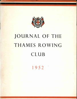 Journal of the Thames Rowing Club 1952