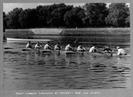 Post-Henley training at Putney - the 2nd VIII