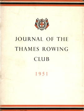 Journal of the Thames Rowing Club 1951