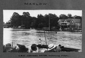 Marlow 1926 - TRC juniors after winning final