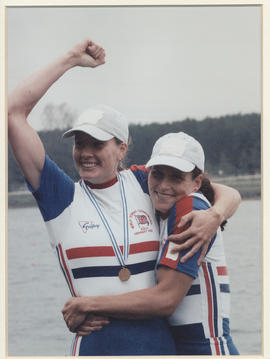 Batten and Lindsay at World Championships 1998