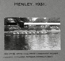 Henley 1931 Thames Cup