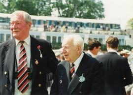 Peter Kirkpatrick and Lord Headley at Henley