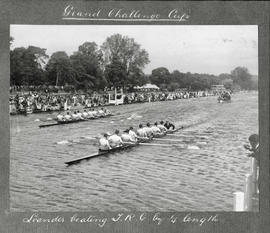 Henley 1924 - Grand Challenge Cup, Leander beating TRC by 1/4 length