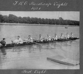 TRC Handicap Eights 1921 - first eight