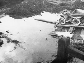 Thames tank under construction