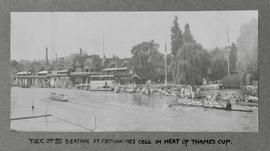 Henley 1931 Thames Cup TRC beating St Catharine's